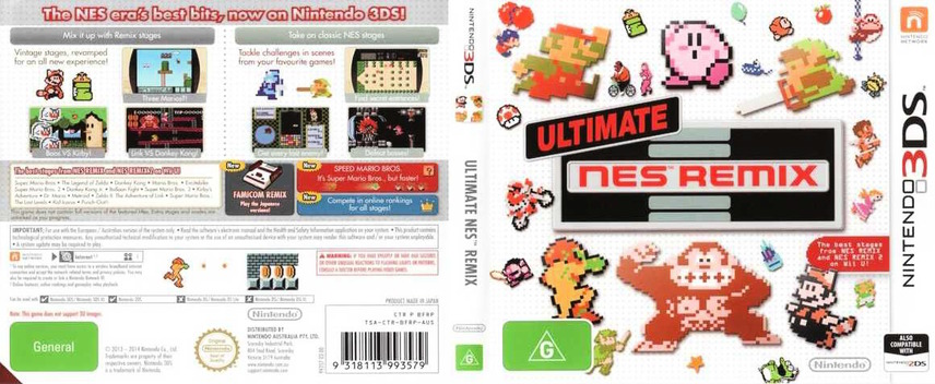 Ultimate NES Remix 3DS coverfullM (BFRP)