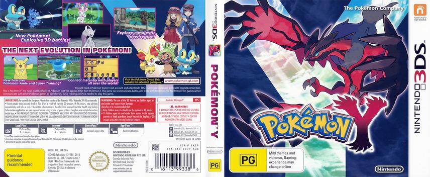 Pokémon Y 3DS coverfullM (EK2A)
