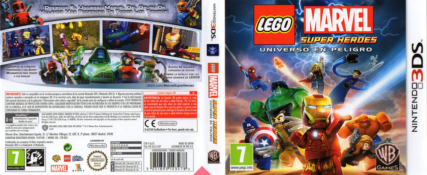 LEGO Marvel Super Heroes - Universe in Peril 3DS coverfullM (AL5S)
