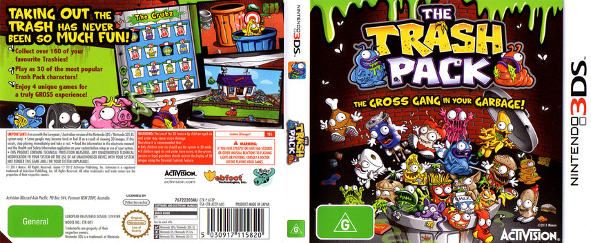 The Trash Pack 3DS coverfullM (ATZP)