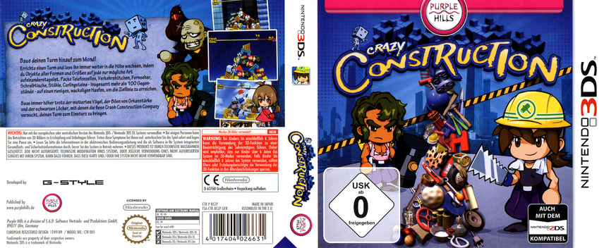 Crazy Construction 3DS coverfullM (BCZP)