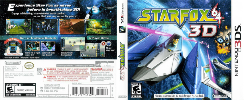 Star Fox 64 3D 3DS coverfullM (ANRE)