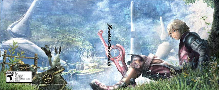 Xenoblade Chronicles 3D 3DS coverfullMB2 (CAFE)