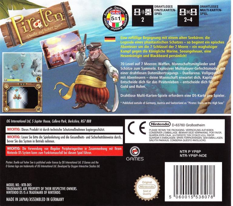 Piraten - Duelle auf hoher See DS backHQ (YP8P)