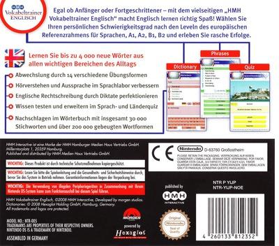 HMH Vokabeltrainer - Englisch DS backM (YIJP)
