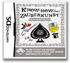 Know-how der Zauberkunst - Verblüffe deine Freunde mit faszinierenden Tricks! DS cover (AJQP)