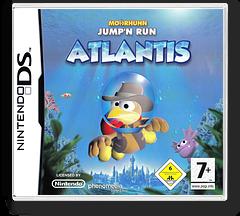 Moorhuhn Jump'n Run - Atlantis DS cover (CMVP)