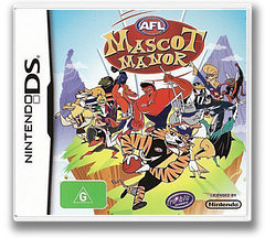 AFL Mascot Manor DS cover (CQQP)