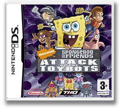 Nicktoons - Attack of the Toybots DS cover (YAYX)