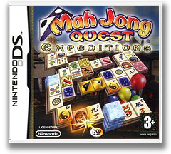 Mah Jong Quest - Expeditions DS cover (YMXP)