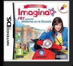 Aventuras Imagina Ser Presenta - Misterios En La Escuela DS cover (BDVP)