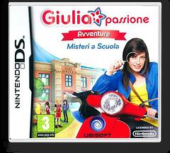 Giulia Passione Avventure - Misteri Scuola DS cover (BDVP)