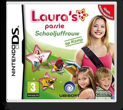 Laura's Passie - Schooljuffrouw [Op Kamp] DS cover (BTDP)
