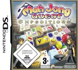 Mah Jong Quest - Expeditions DS cover (YMXD)