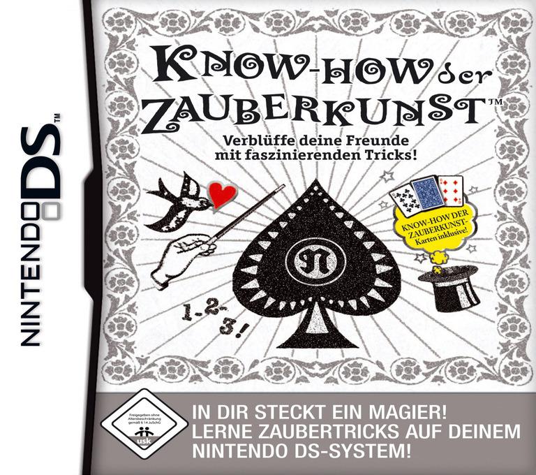 Know-how der Zauberkunst - Verblüffe deine Freunde mit faszinierenden Tricks! DS coverHQ (AJQP)