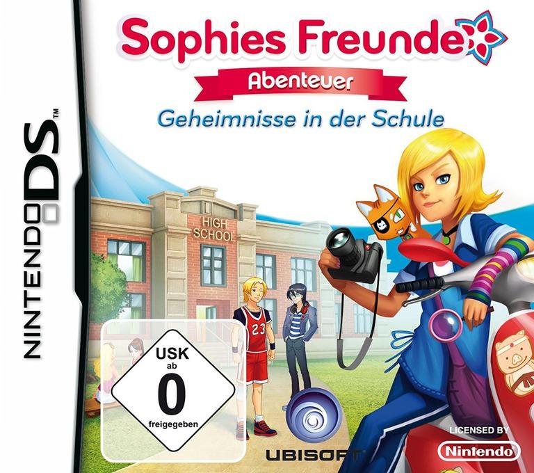 Sophies Freunde Abenteuer - Geheimnisse In Der Schule DS coverHQ (BDVP)