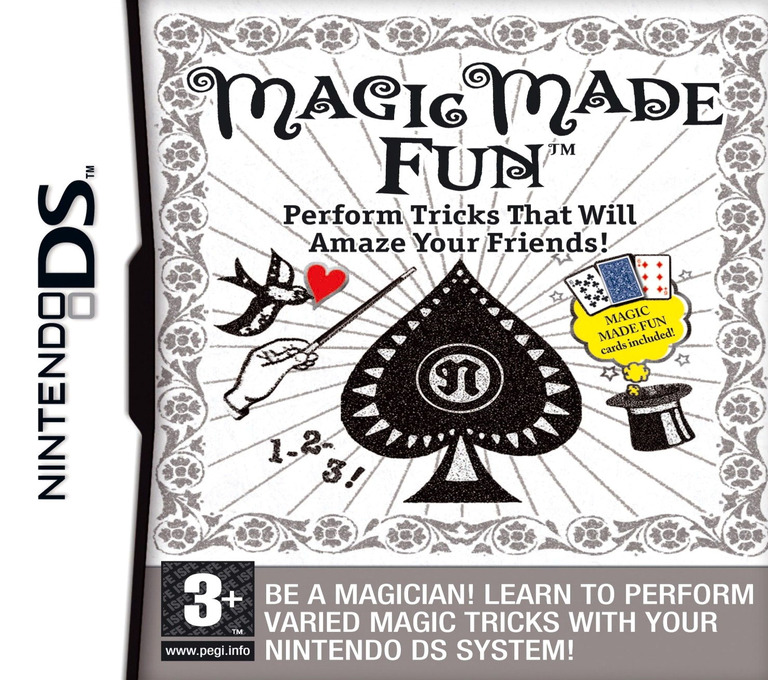 Magic Made Fun - Perform Tricks That Will Amaze Your Friends! DS coverHQ (AJQP)