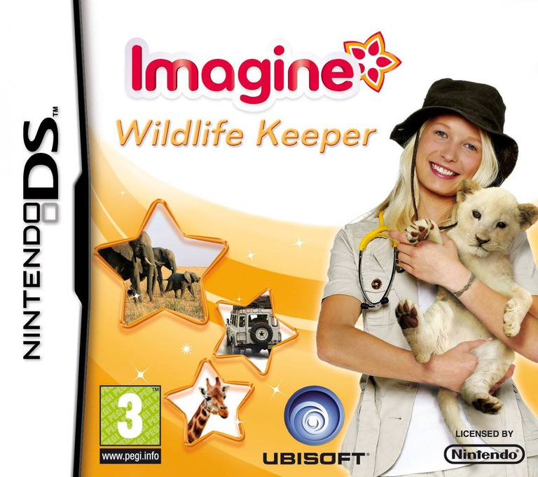 Imagine - Wildlife Keeper DS coverHQ (BGZP)