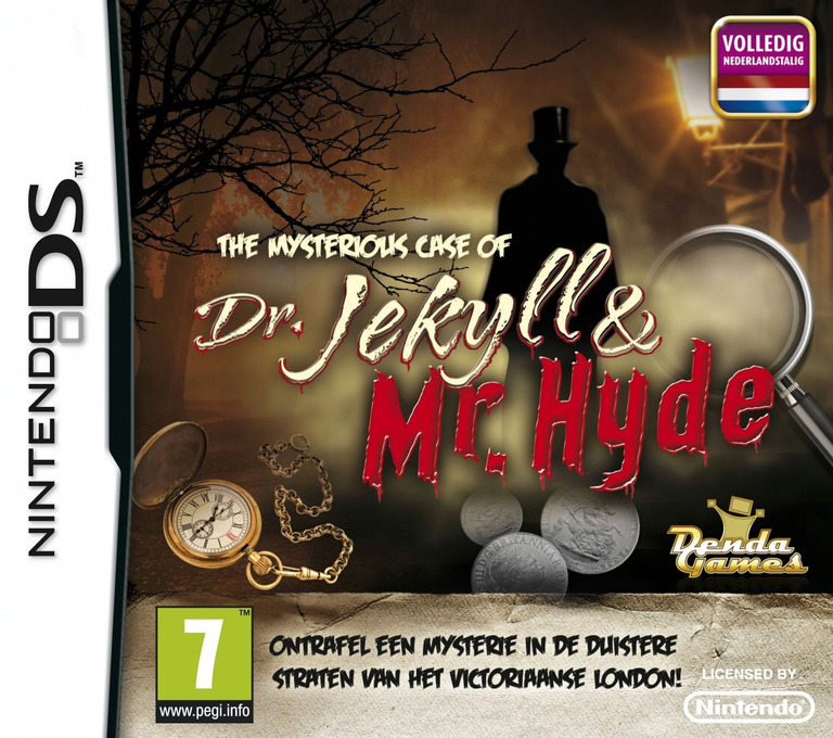 The Mysterious Case of Dr. Jekyll & Mr. Hyde DS coverHQ (BJHY)