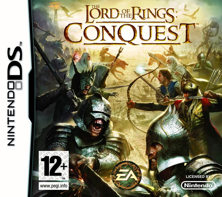 The Lord of the Rings - Conquest DS coverHQ (CLQP)