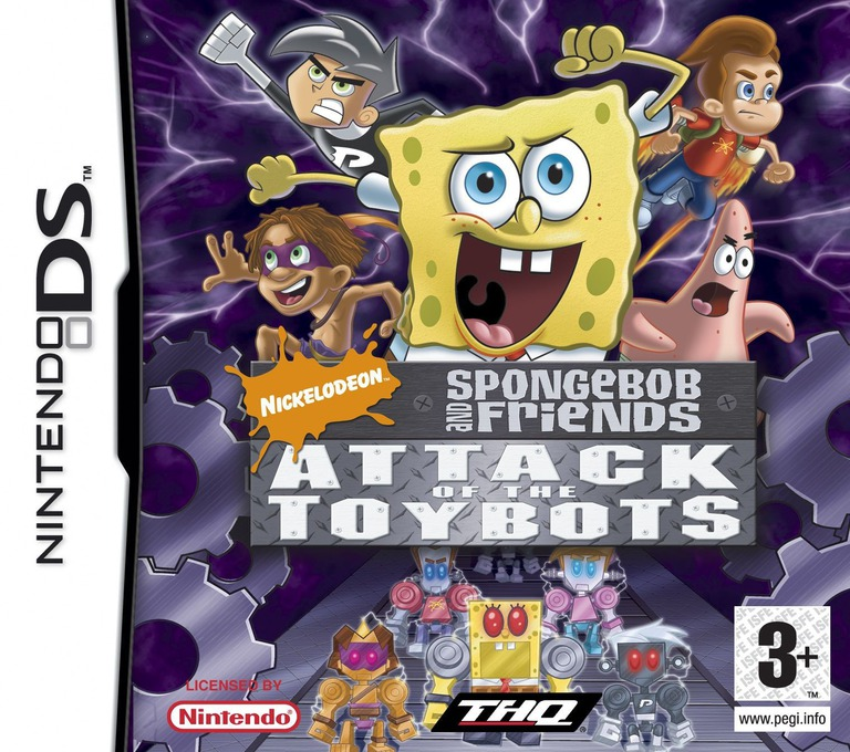 Nicktoons - Attack of the Toybots DS coverHQ (YAYX)