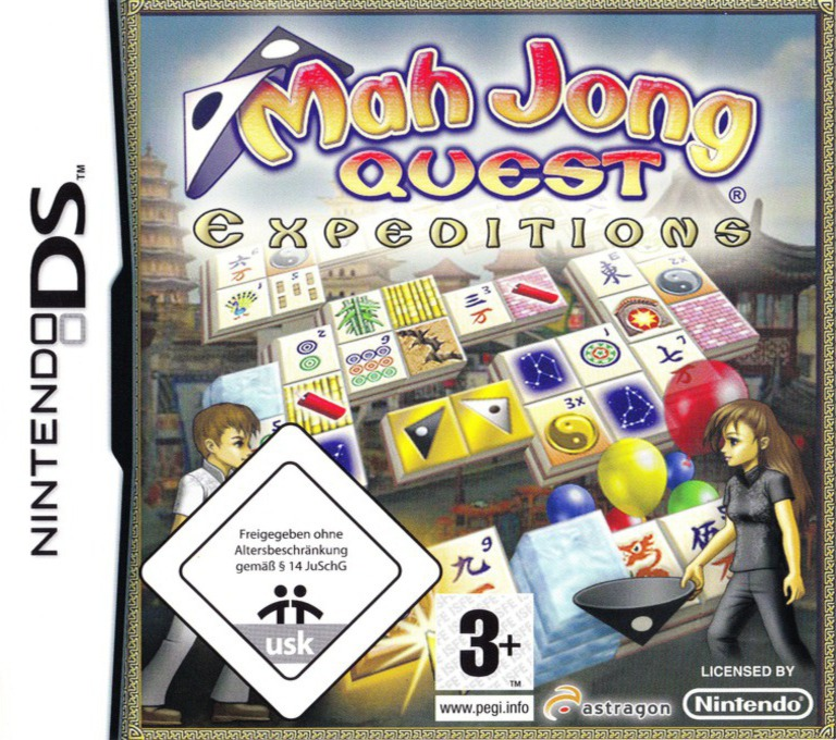 Mah Jong Quest - Expeditions DS coverHQ (YMXD)