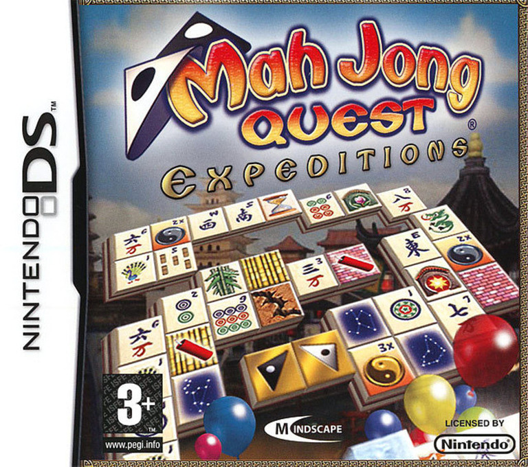 Mah Jong Quest - Expeditions DS coverHQ (YMXX)