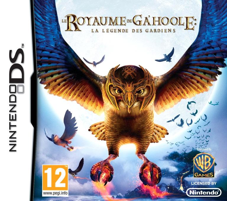 Le Royaume de Ga'Hoole-La Légende des Gardiens DS coverHQ (CUAP)