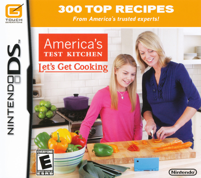 America's Test Kitchen - Let's Get Cooking DS coverHQ (BKCE)