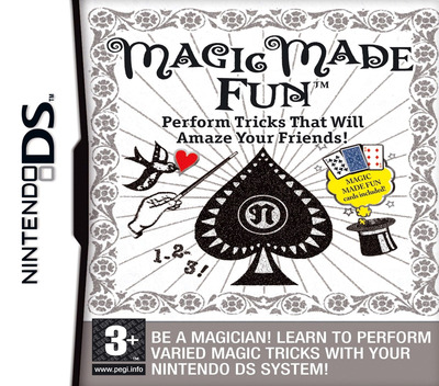 Magic Made Fun - Perform Tricks That Will Amaze Your Friends! DS coverM (AJQP)