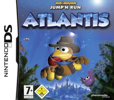Moorhuhn Jump'n Run - Atlantis DS coverM (CMVP)