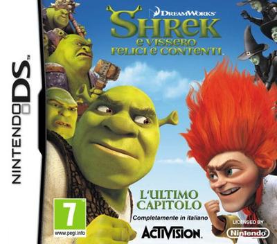 Shrek - E Vissero Felici e Contenti DS coverM (VSKI)
