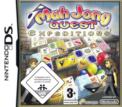 Mah Jong Quest - Expeditions DS coverM (YMXD)