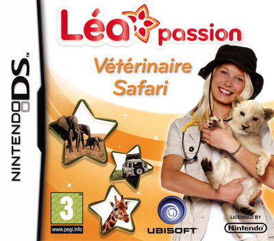 Léa Passion - Vétérinaire Safari DS coverM (BGZP)
