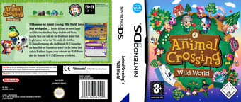 Animal Crossing - Wild World DS cover (ADMP)