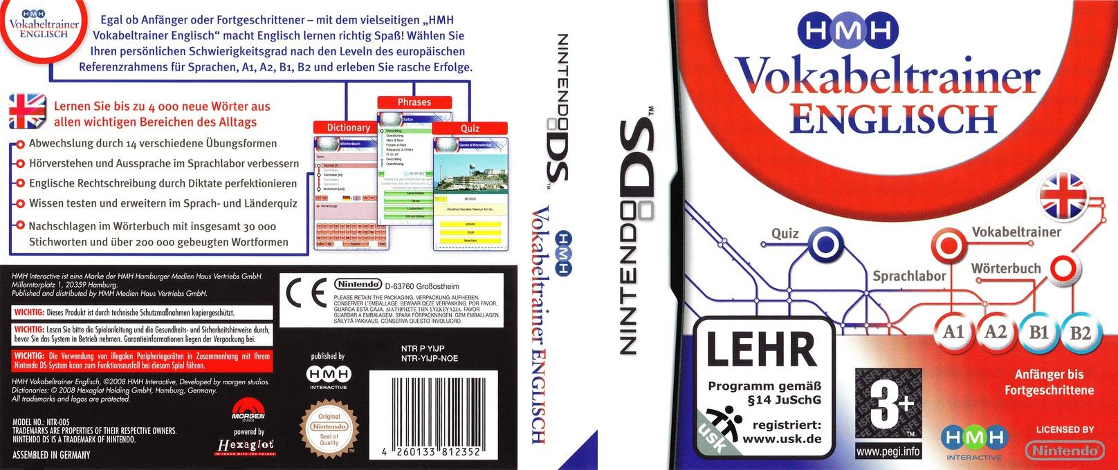 HMH Vokabeltrainer - Englisch DS coverfullHQ (YIJP)
