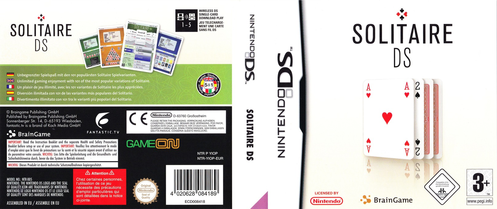Solitaire DS DS coverfullHQ (YIOP)