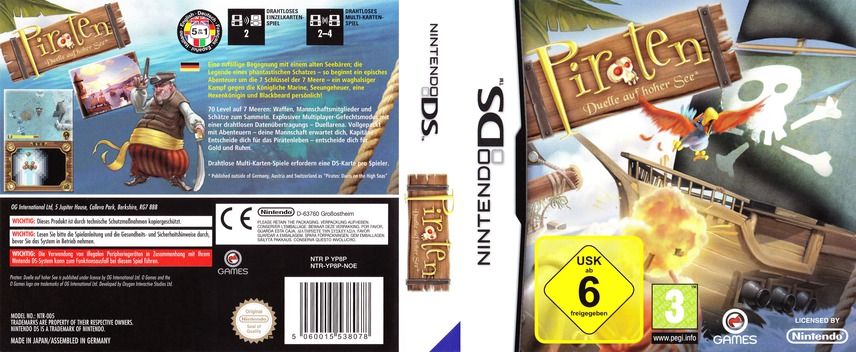 Piraten - Duelle auf hoher See DS coverfullM (YP8P)