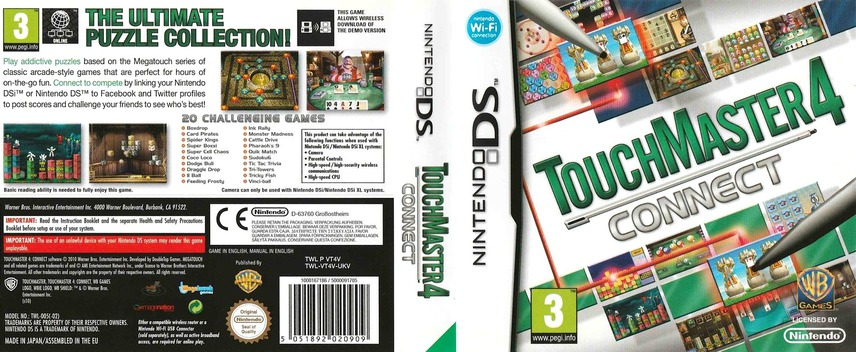 TouchMaster 4 - Connect DS coverfullM (VT4V)