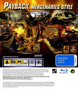 Mercenaries 2: World in Flames PS3 cover (BLES00323)