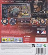 World Series of Poker 2008: Battle for the Bracelets PS3 cover (BLES00139)