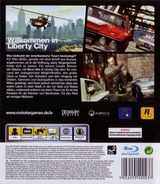 Grand Theft Auto IV PS3 cover (BLES00258)