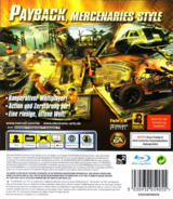 Mercenaries 2: World in Flames PS3 cover (BLES00328)