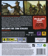 Red Dead Redemption: Game of the Year Edition PS3 cover (BLES01294)
