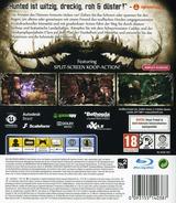 Hunted: Die Schmiede der Finsternis PS3 cover (BLES01310)
