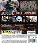 Enemy Front PS3 cover (BLES01655)