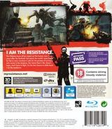 Resistance 3 PS3 cover (BCES01353)
