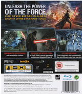 Star Wars: The Force Unleashed PS3 cover (BLES00262)
