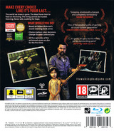 The Walking Dead: A Telltale Games Series PS3 cover (BLES01833)