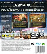Dynasty Warriors: Gundam PS3 cover (BLES00147)